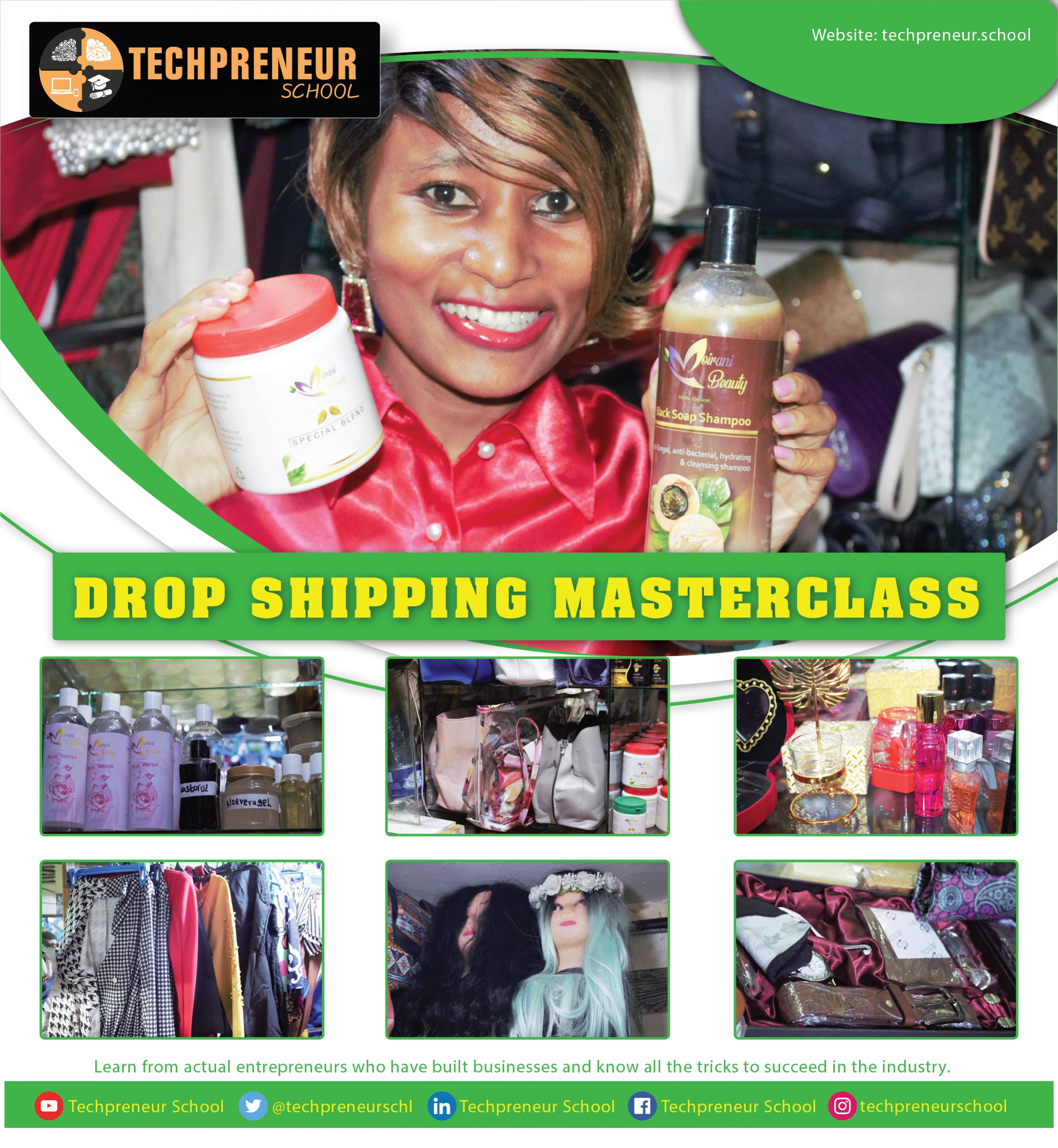 Drop Shipping Masterclass Poster