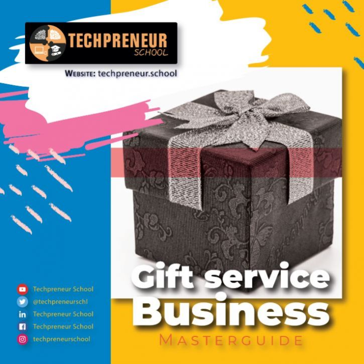 Gift service Business poster