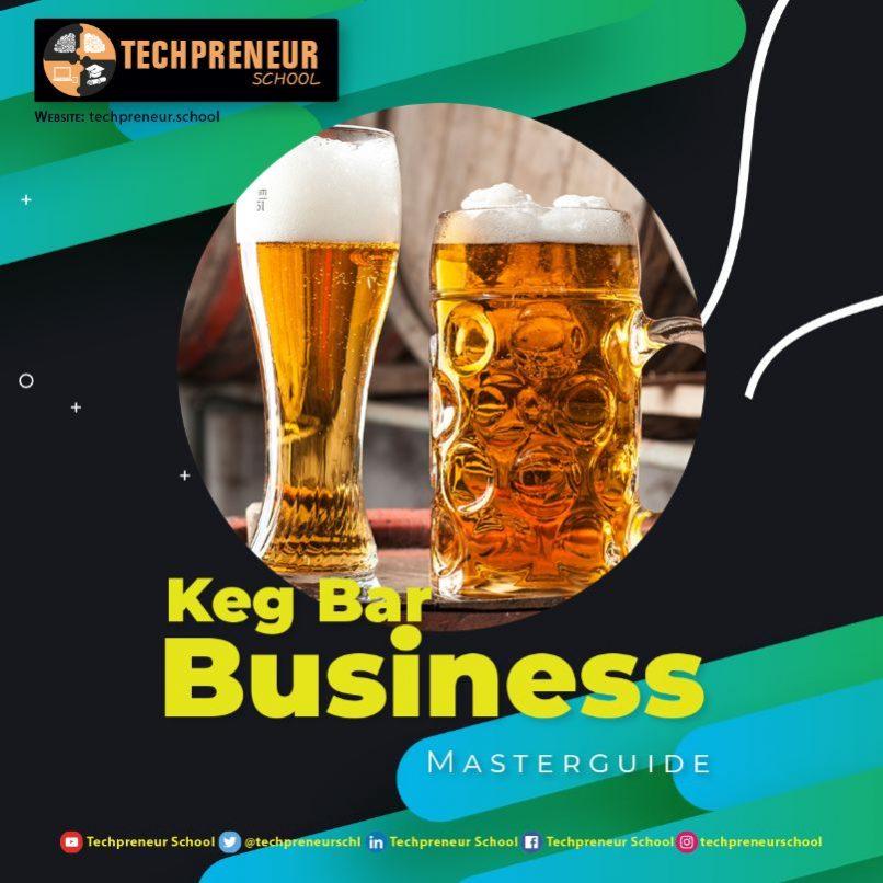 Keg Bar Business poster