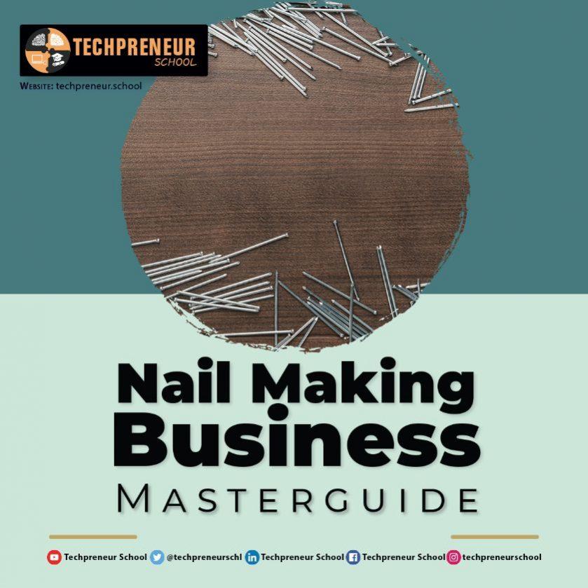 Nail Making Business poster