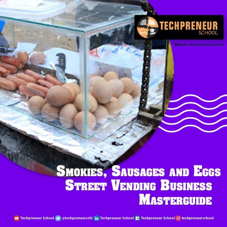 Smokies, Sausages and Eggs Street Vending Business poster